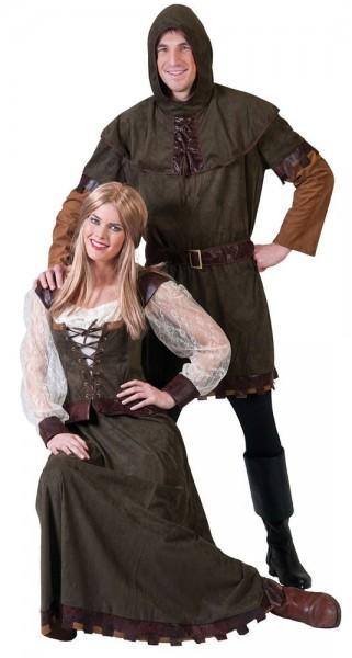 Mittelaltertracht Amadea Damenkostüm