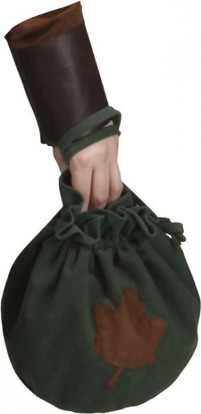 Robin Hood Beutel Mit Blatt Motiv