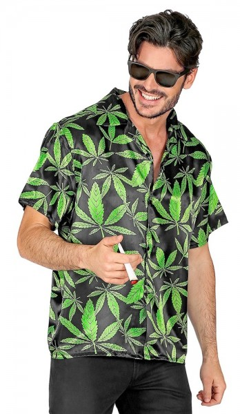 Camisa Weed King para hombre