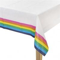 Rainbow Splash Papier Tischdecke 1,8 x 1,2m