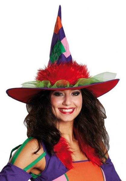 Chapeau de sorcière Colorina coloré