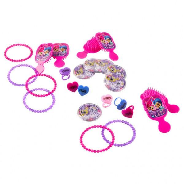 Shimmer & Shine Geschenk Set Pink 24-Teilig