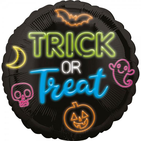 Trick or Treat Halloween Folienballon 45cm