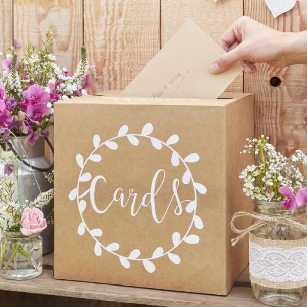 Landliebe Hochzeit Kartenbox