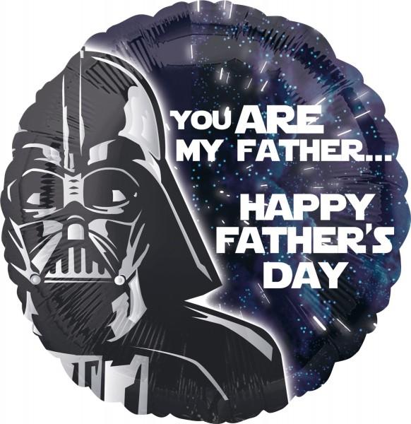 Darth Vader Vatertags-Folienballon 43cm