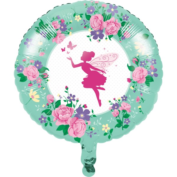 Ballon en aluminium Flower Fairy 46cm