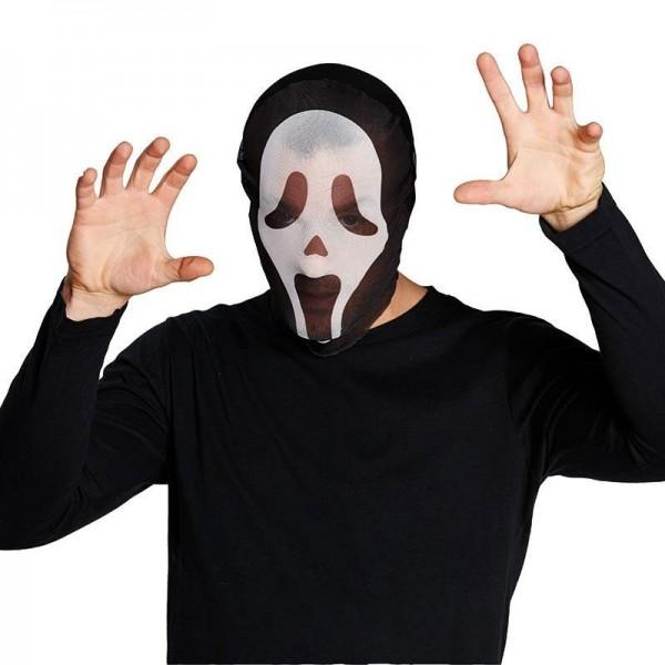 Masque Scream Ghost en tissu