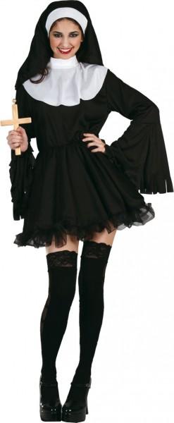 Sexy Nonnen Kostüm