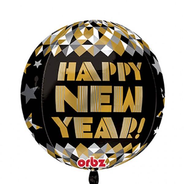 Ballon aluminium New Year's Eve Disco Fever 39cm