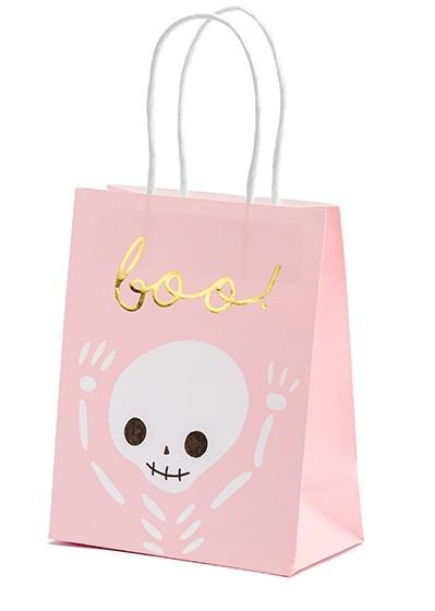 6 borse regalo Boo rosa