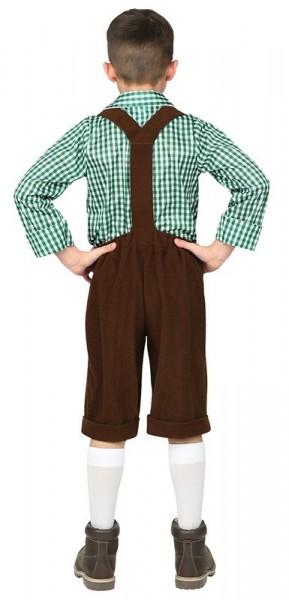 Costume da ragazzo bavarese per bambini