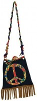 Bunte Peace Hippie-Tasche
