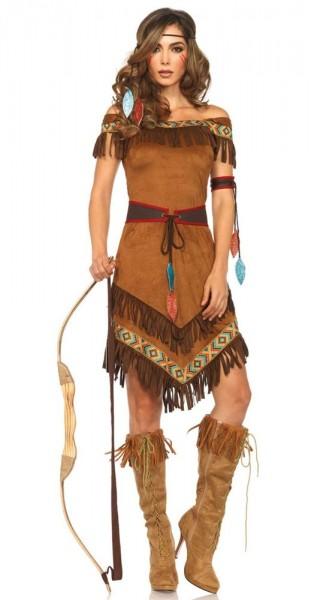 Indianer Katinka Premium Kostüm