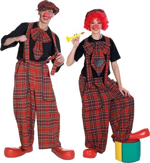 Riesen Clowns Latzhose