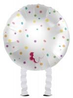 Laufendes Häschen Folienballon 43cm