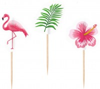 20 Flamingo Paradise Party Picker