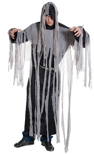 Creepy zombie fringe costume