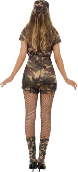 Sexy Army Amy Damenkostüm