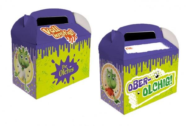 8 Las cajas de regalo Olchis con campo de nombre