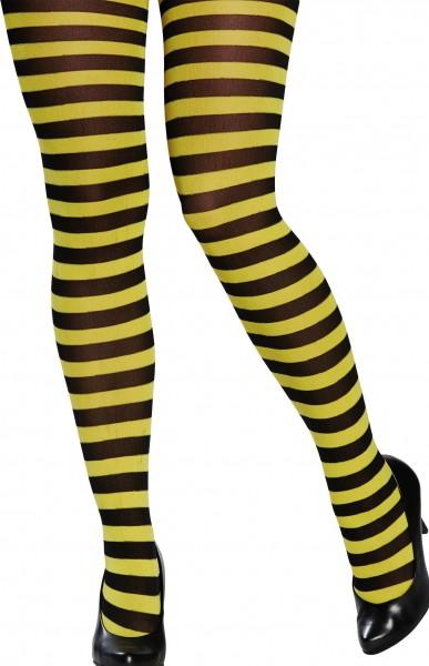 Medias abejas negro amarillo