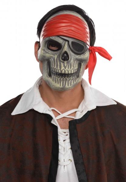 Skull piratmaske