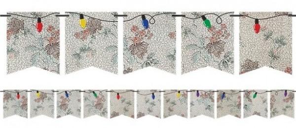 Cadena de banderines DIY Stranger Things 8m