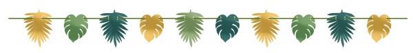 Dschungel Fieber Girlande 3,65m
