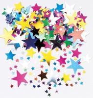 Märchenhafte Stern Streudeko Bunt 14g