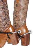 Stiefelsporen für Cowboykostüm