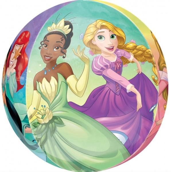 Ballon du monde des contes de fées Princesse Disney 38 x 40 cm