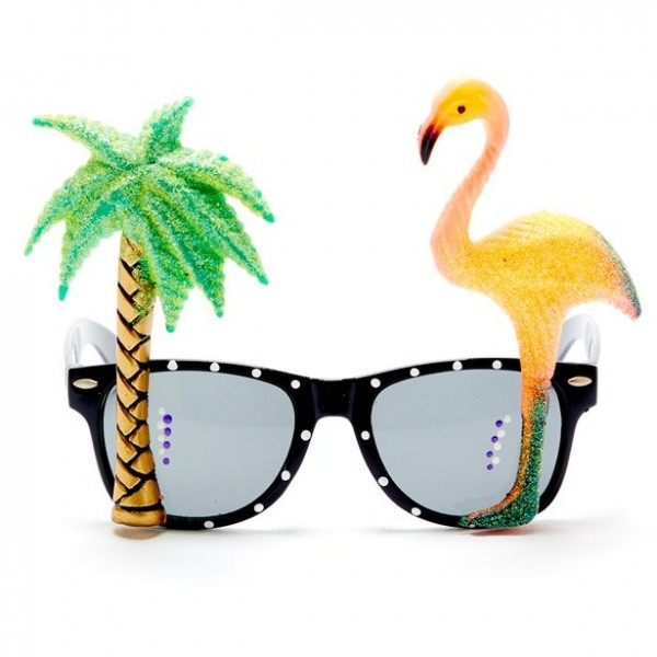 Witzige Tropical Brille