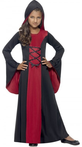 Gothic Lady Vampire-kostuum voor meisjes