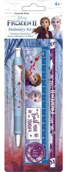 Ensemble d'écriture Frozen II 5 pièces
