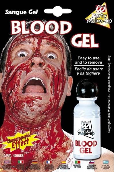 Sangre falsa en gel