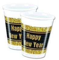 8 Funky New Year Becher 200ml