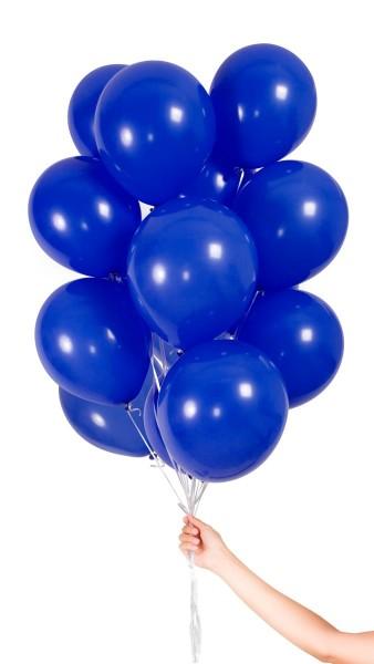 30 dunkelblaue Luftballons 23cm