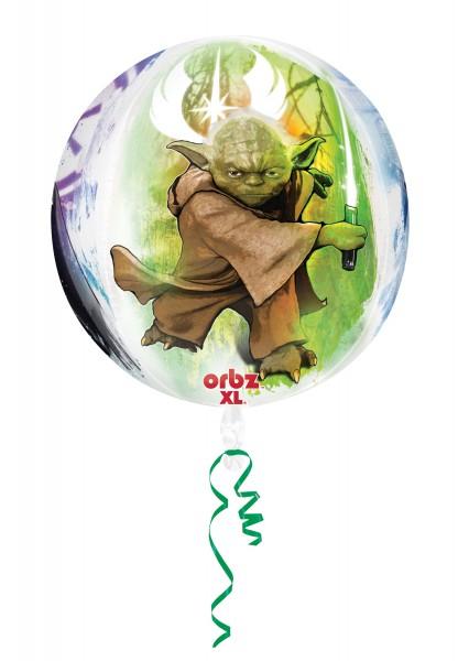 Folienballon Star Wars Universum rund