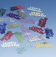 Colorful Happy Birthday sprinkle decoration 15g