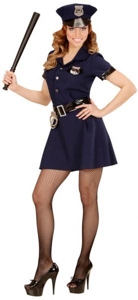 Retro Polizistin Kostüm