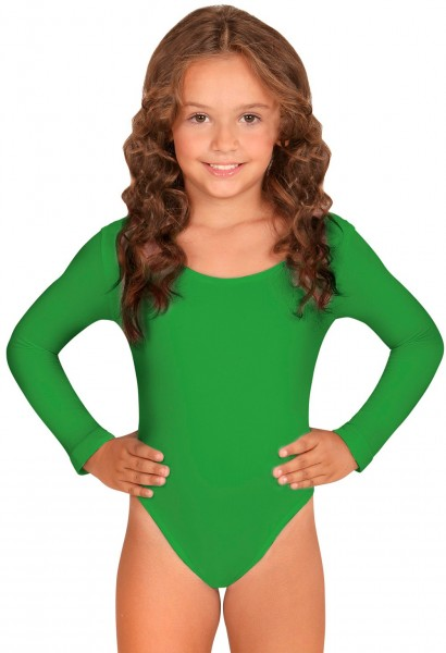 Klassischer Kinderbody Grün
