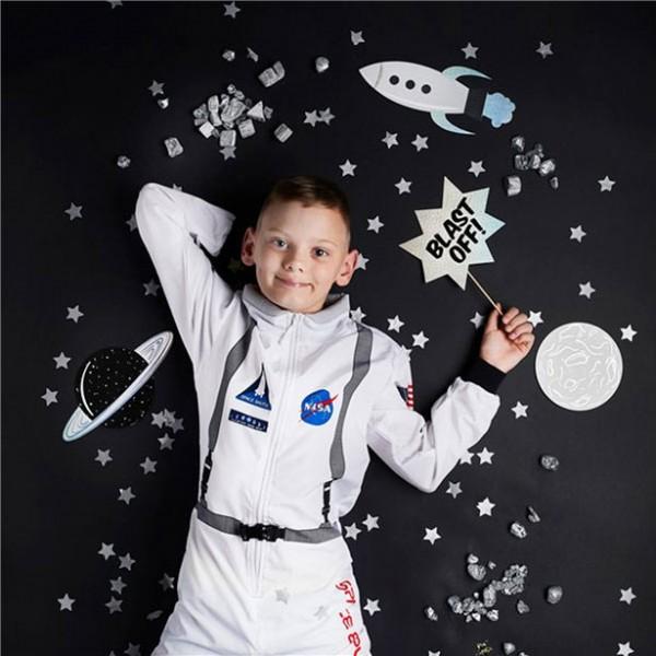 Weltraumparty Foto-Requisiten 10-teilig