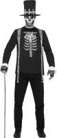 Skelettgraf Mortello Kostüm