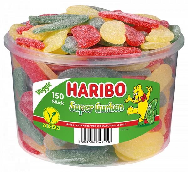 150 Haribo Super Gurken 1350g