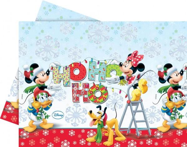 Nappe de fête de Noël Mickey Mouse 120 x 180 cm