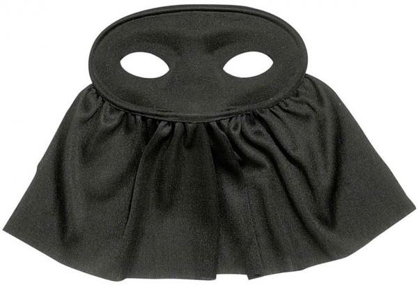 Schleier Augenmaske Schwarz