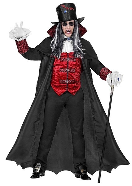 Noble Count Baadur vampire costume