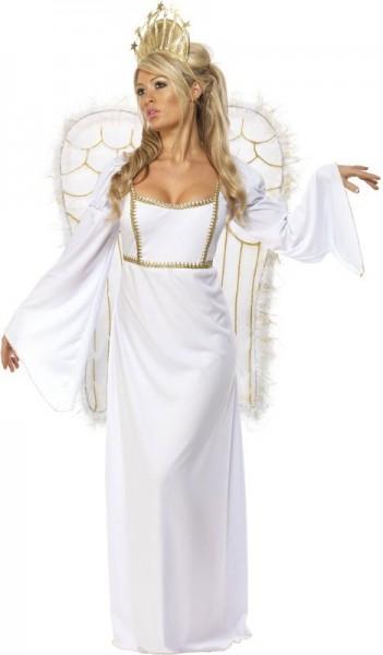 Disfraz de ángel navideño aliento de invierno