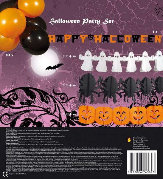 Schauriges Halloween Hängedeko Set 14-teilig