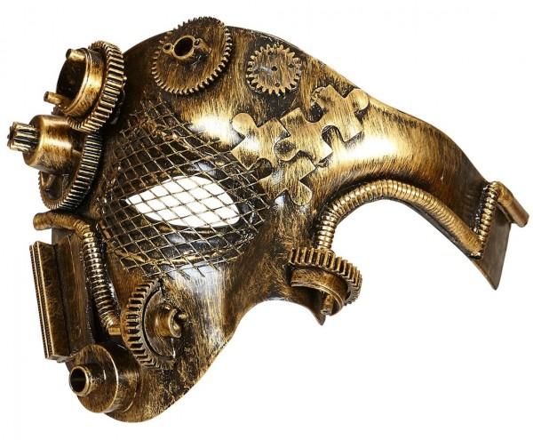 Masque rétro steampunk élégant