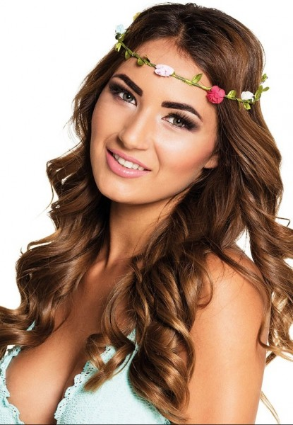 Flowery wreath of hair Rosalie